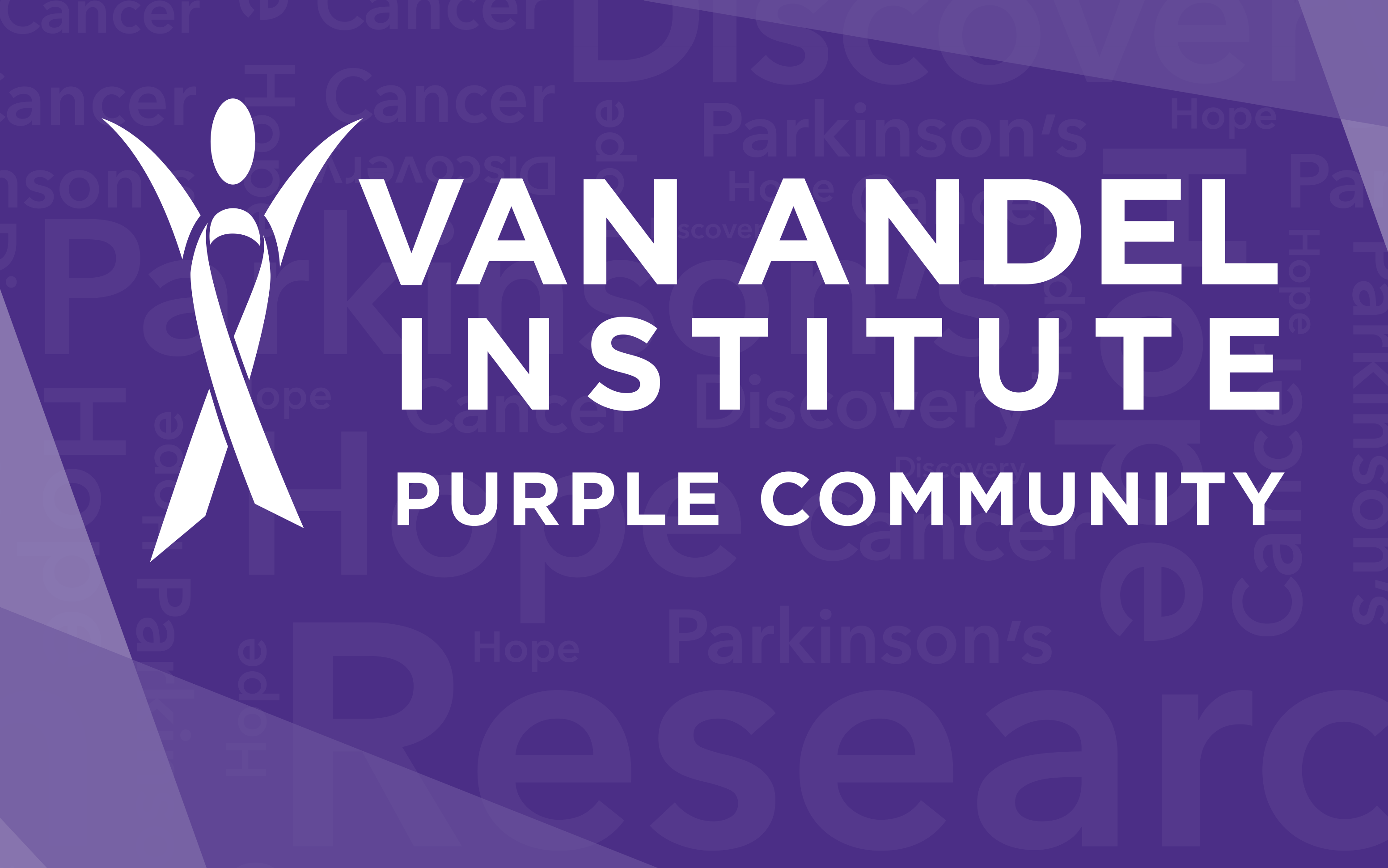 Van Andel Institute Purple Community Banner