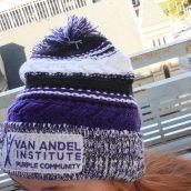 Van Andel Institute Purple Community Beanie