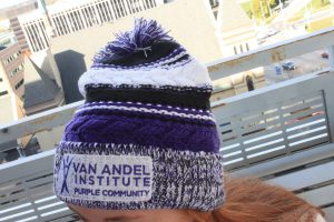 Van Andel Institute Purple Community Beanie