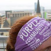 Van Andel Institute Purple Community Bandana