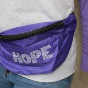 Van Andel Institute Purple Community Fanny Pack