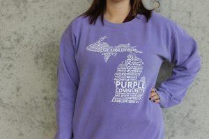Van Andel Institute Purple Community Crew Sweatshirt