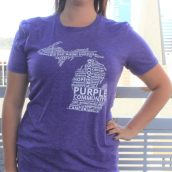 Van Andel Institute Purple Community Michigan Tee