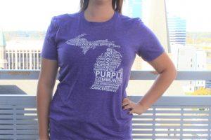 Van Andel Institute Purple Community Michigan Tee