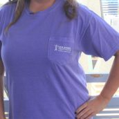 Van Andel Institute Purple Community Pocket Tee