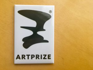 White and Black ArtPrize Magnet