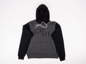 Black and Dark Grey ArtPrize GR Mens Hoodie